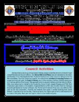 2021 January Newsletter