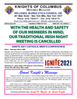 2021 March Newsletter